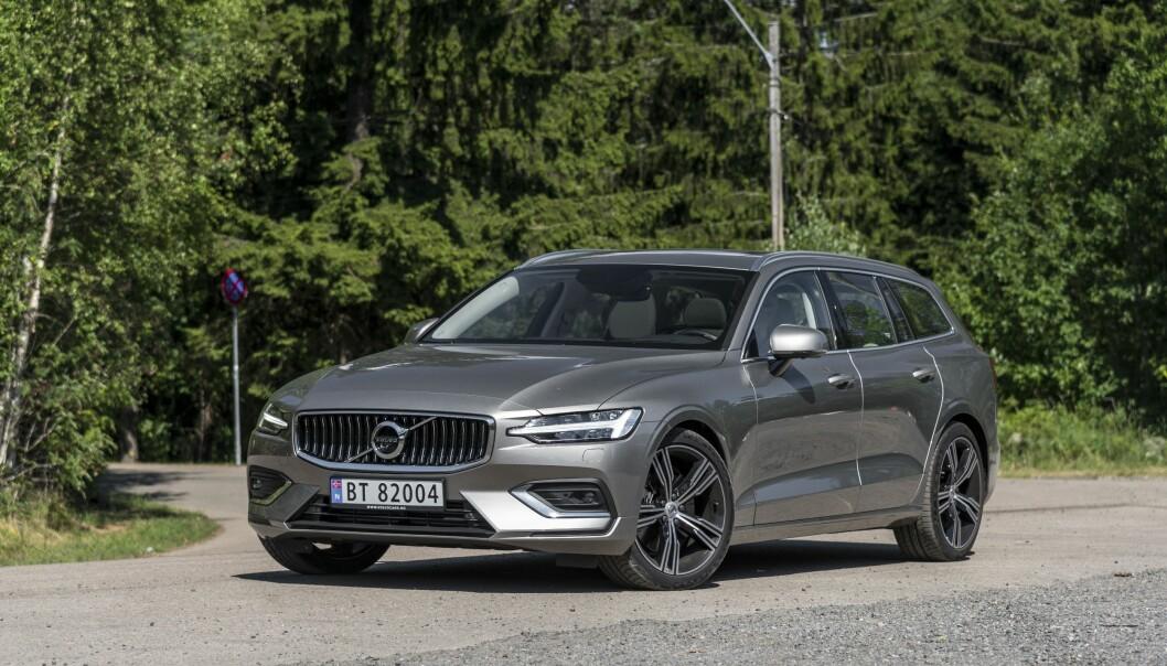 <strong>LADEHYBRID:</strong> Volvo V60 kommer endelig med motorer som vil gjøre den mer salgbar. Foto: Jamieson Pothecary