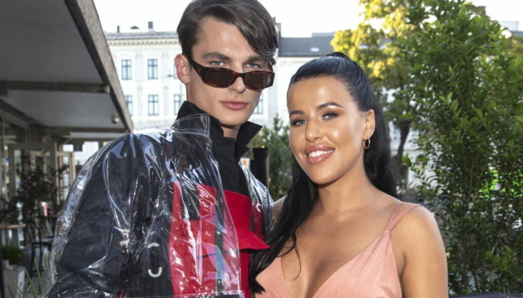 SLUTT: Melina Johnsen og Adrian Sellevoll innledet et forhold etter innspillingen av «Ex on the Beach». Nå har imidlertid duoen gått fra hverandre. Foto: Andreas Fadum / Se og Hør
