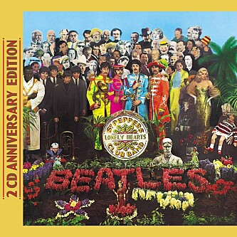 MINNEVERDIG 4: «Sgt. Pepper's Lonely Hearts Club Band» av The Beatles.