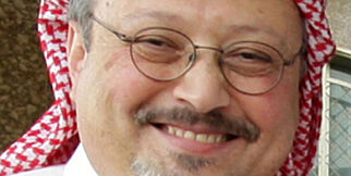 (FILES) This undated file photo taken released on May 16, 2010 shows prominent Saudi journalist Jamal Khashoggi in the Saudi capital Riyadh. - Khashoggi went from being a Saudi royal family insider to an outspoken critic of the ultra-conservative kingdom's government. The Saudi journalist -- who was last seen on October 2 entering his country's consulate in Istanbul -- went into self-imposed exile in the United States in 2017 after falling out with Crown Prince Mohammed bin Salman. (Photo by STRINGER / AFP)