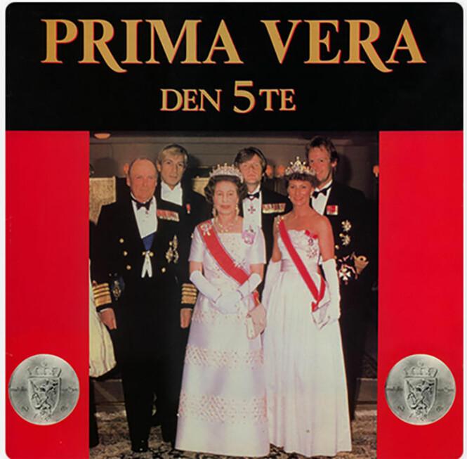 <strong>TRUKKET FRA BUTIKKENE:</strong> Prima Veras album «Den 5te» måtte trekkes fra markedet fordi det hadde en manipulert versjon av kongefamilien som cover.