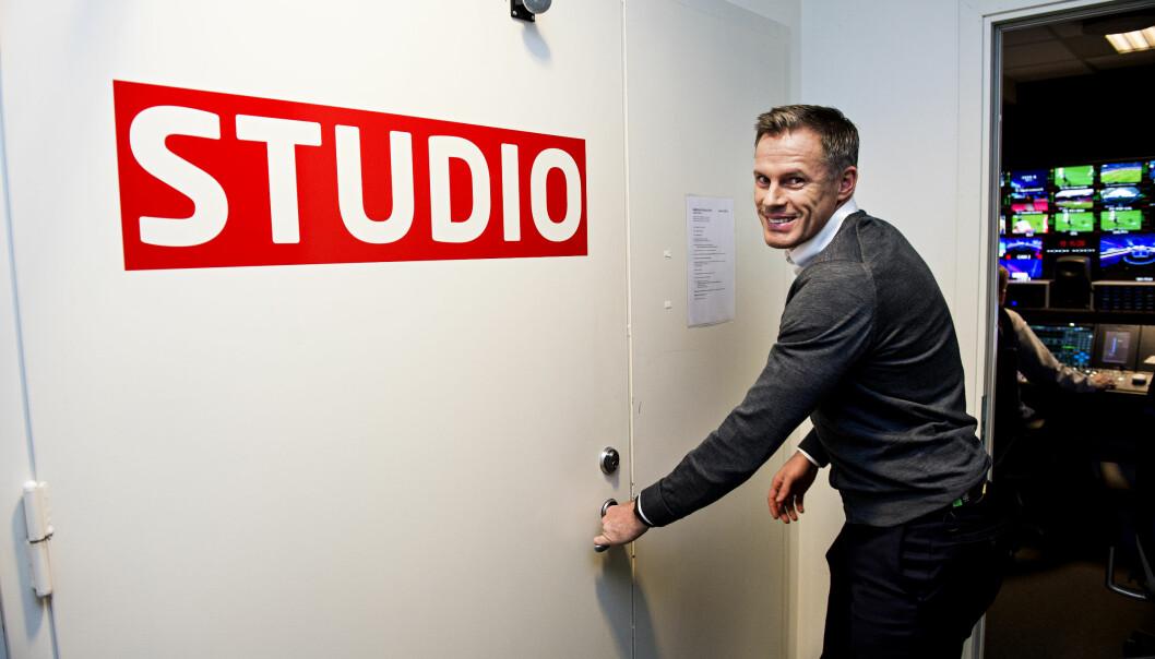 <strong>MTG-EKSPERT:</strong> Jamie Carragher. Foto: John Terje Pedersen / Dagbladet