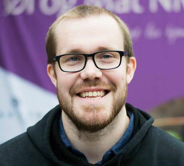 Eirik S. Morland er seniorutvikler i Ny Media. 📸: Linda K. Hogstad