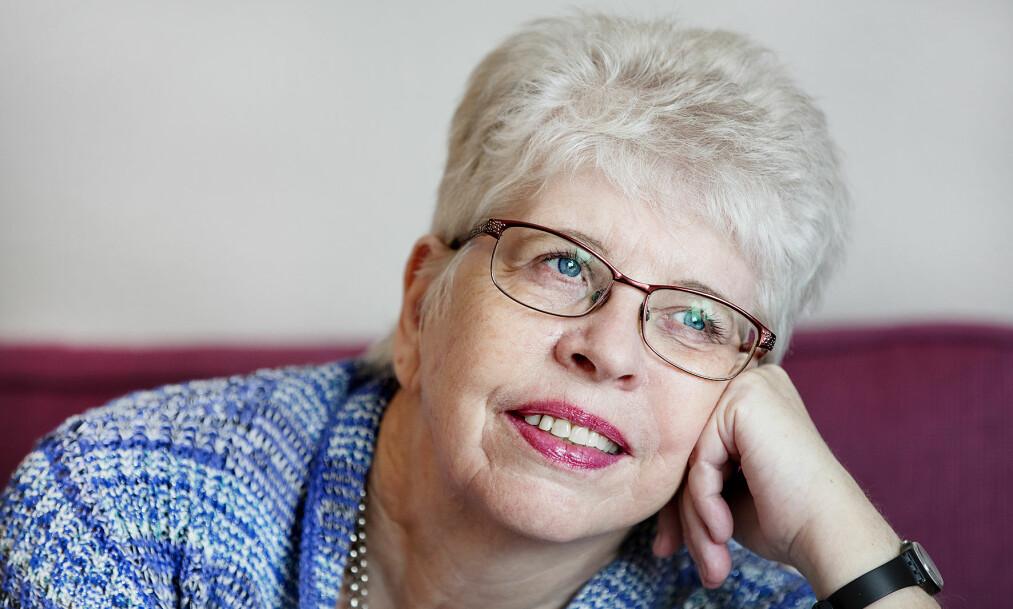 LIVETS LÆRE. Kari Hilde French betrakter livet som en reise i lærdom. Hun har syslet med tanken både å ta opp igjen studier og å skrive en ny bok. Foto: Stine Østby