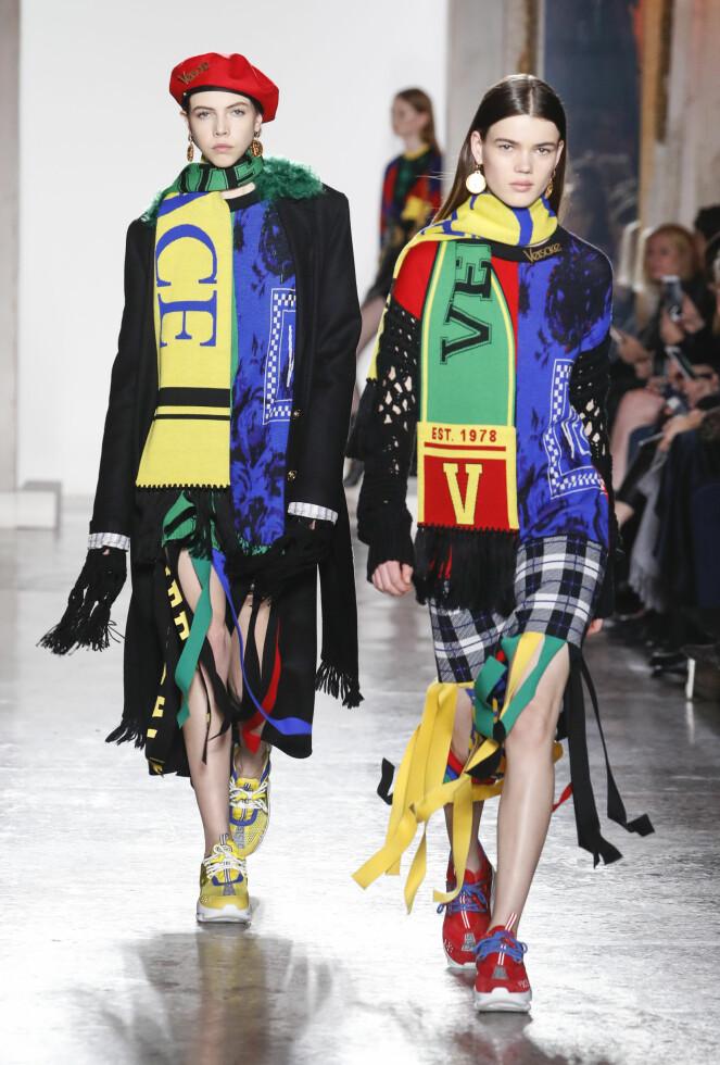Versace AW18 Foto: Scanpix