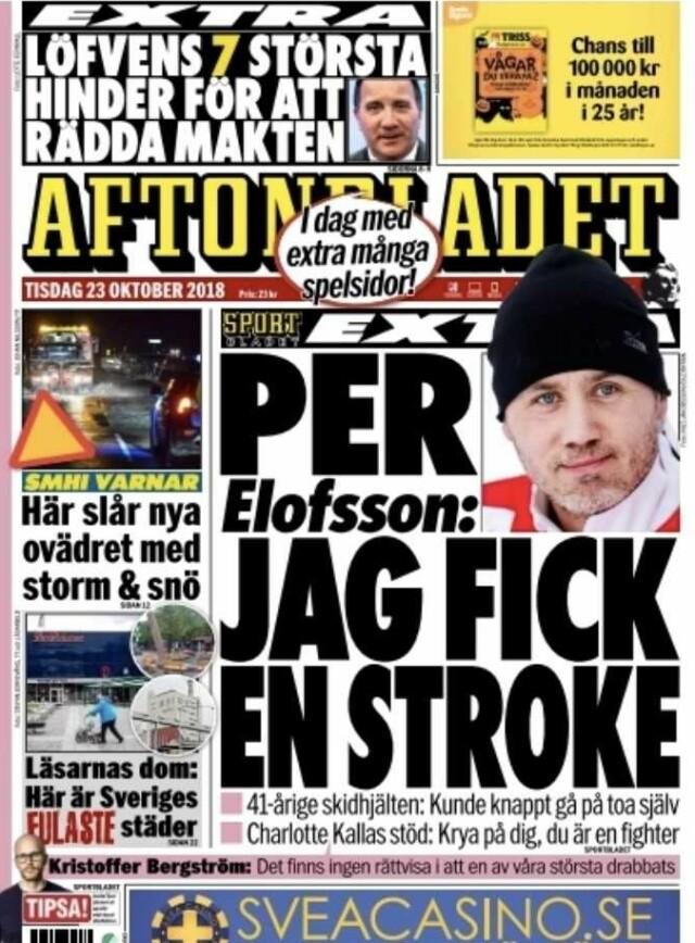 Per elofsson stroke