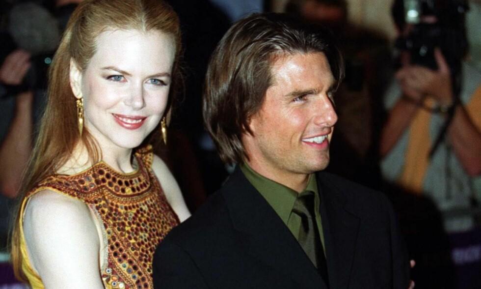 DEN GANG DA: Nicole Kidman og Tom Cruise fra lykkelige tider. Bildet er tatt i 1999 - to år før skilsmissen. Foto: NTB Scanpix.