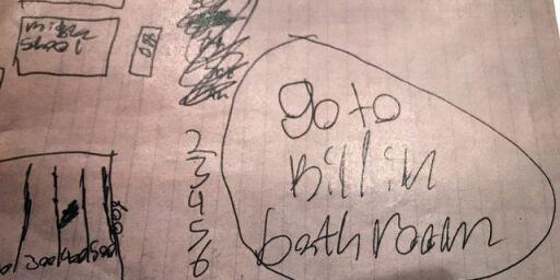 image: Hjemme hos jentene fant politiet bevis for den djevelske planen