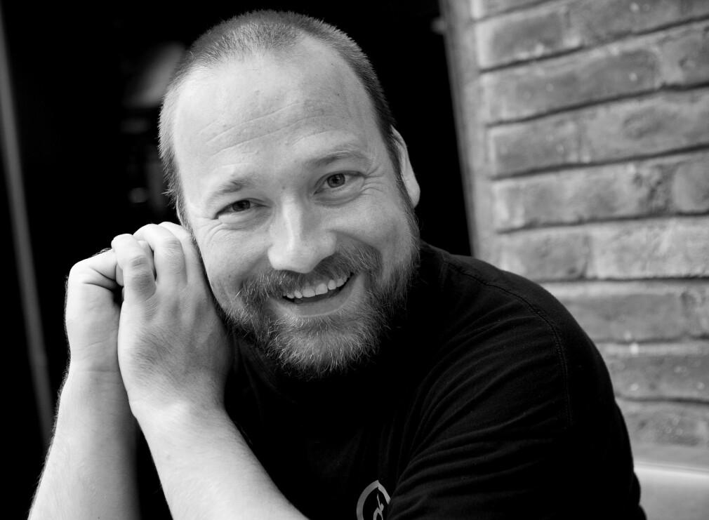 Utvikler og daglig leder Kaare Nilsen i Arktekk driver konferansen flatMap(Oslo) og er over middels opptatt av funksjonell programmering. 📸: Privat