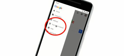 Nå blir det enklere å slette søkehistorikken din hos Google
