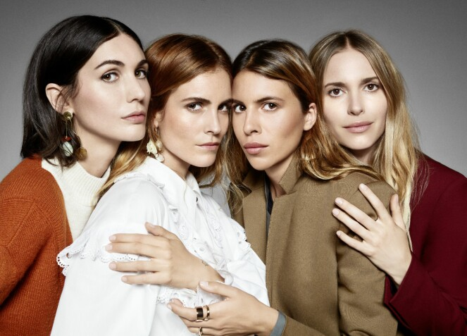 MOTEPROFILENE: Diletta Bonaiuti, Blanca Miro, Maja Wyh og Pernille Teisbæk. Foto: Zalando