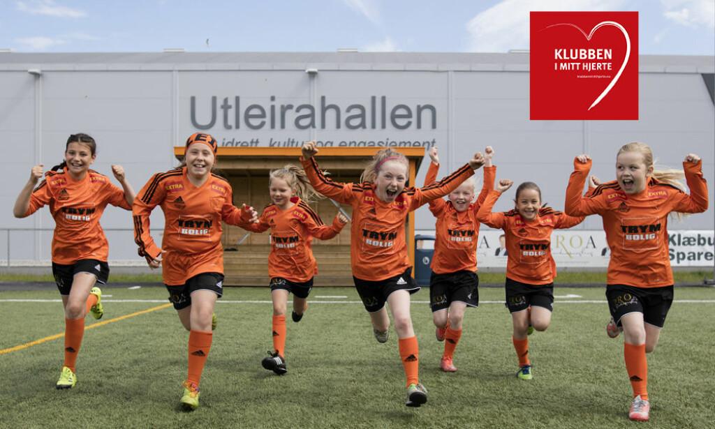 VINNERE: Utleira idrettslag sanket flest stemmer i år. Foto: The Foto Fairy / Ragnhild Annette Enlid