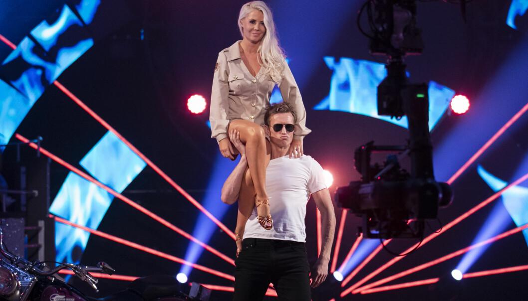 DANSESKOLE: Tone danset i år med Frank Løke. Privat driver hun en danseskole sammen med ektemannen. Foto: Thomas Reisæter / TV 2