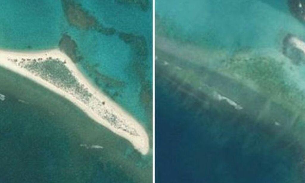image: Hele øya er visket av kartet: - Et stort tap