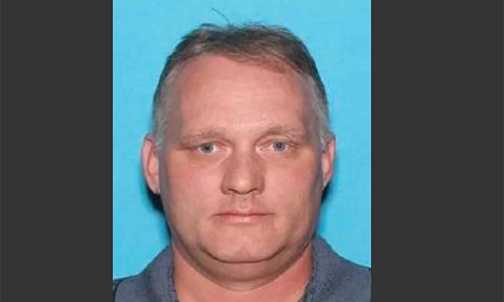 PÅGREPET: 46 år gamle Robert Bowers er pågrepet, mistenkt for å ha stått bak skytemassakren i synagogen i Pennsylvania. Foto: AFP / NTB scanpix