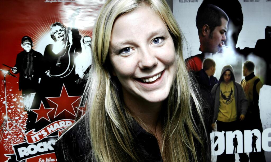 FORBILDE: Forfatter og programleder Vera Micaelsen er død, bare 43 år gammel. Her fra 2006, da hun ble ansatt som langfilmkonsulent i Norsk Filmfond. Foto:Steinar Buholm/Dagbladet.