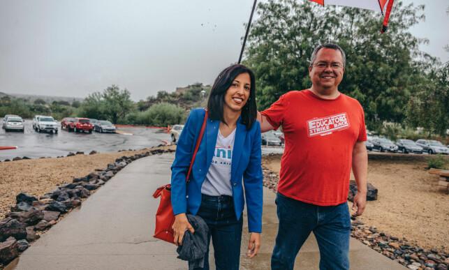 KANDIDAT: Anita Malik håper på å bli kongressrepresentant for Demokratene fra Arizona.