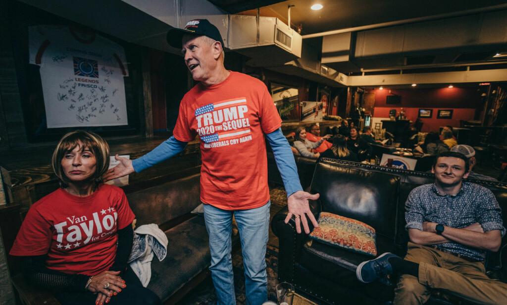 VEKKET AV TRUMP: Dianna Biscan og David Kemp sier de opplevde en politisk oppvåkning med USAs president, Donald Trump.