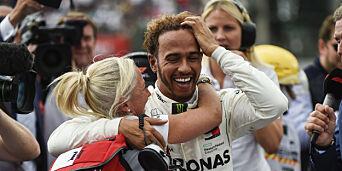 image: Hamilton verdensmester for femte gang