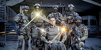 image: Trond var første politimann på Utøya. Nå velger han framtidas elitestyrke fra rullestolen