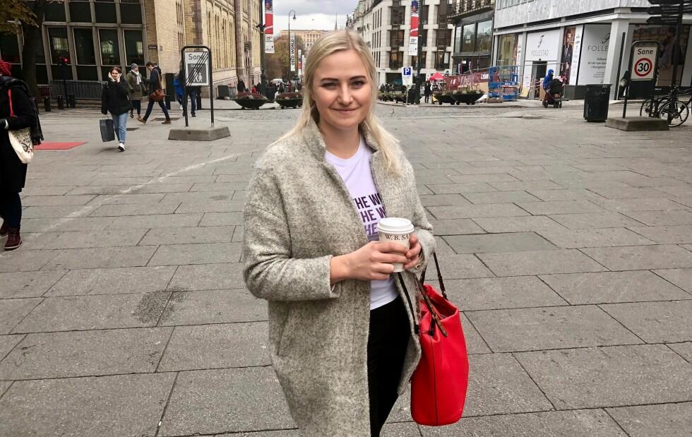 TENKE SEG OM: Ada Arnstad, leder i Senterungdommen, mener at de som tar til orde for å innskrenke eller utvide abortloven bør tenke seg om. Foto: Gunnar Ringheim / Dagbladet
