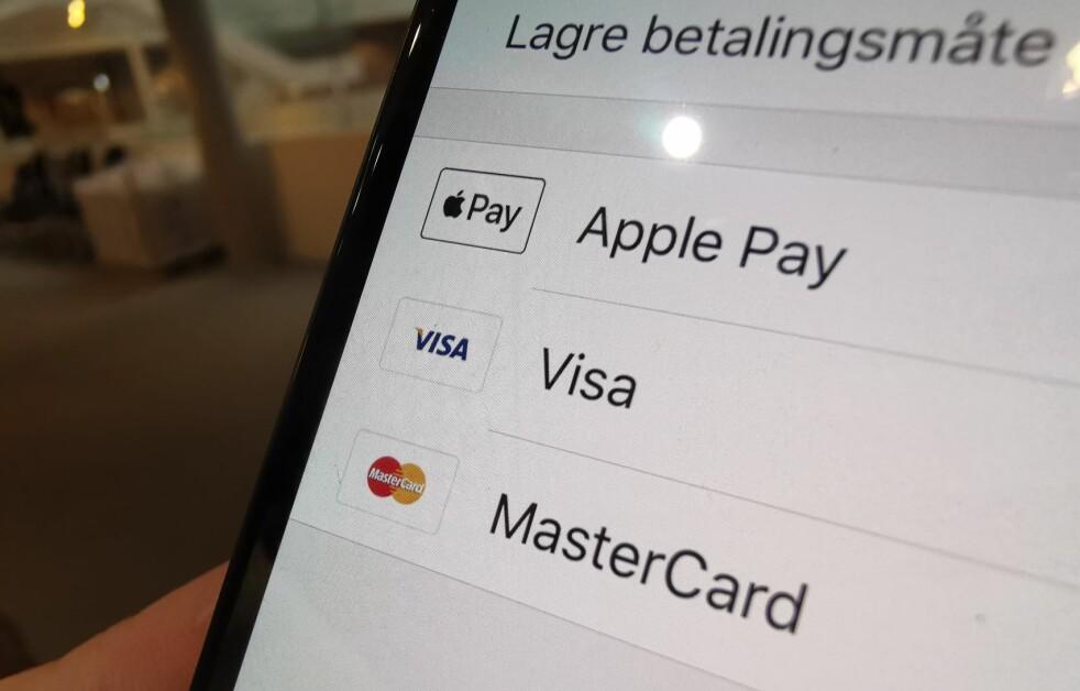 <strong>APPLE PAY OG RUTER:</strong> Nå kan du betale med Apple Pay i RuterBillett-appen. Foto: Martin Kynningsrud Størbu