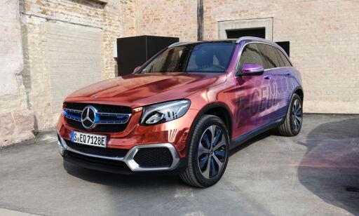 image: Denne Mercedesen er verdens første i sitt slag