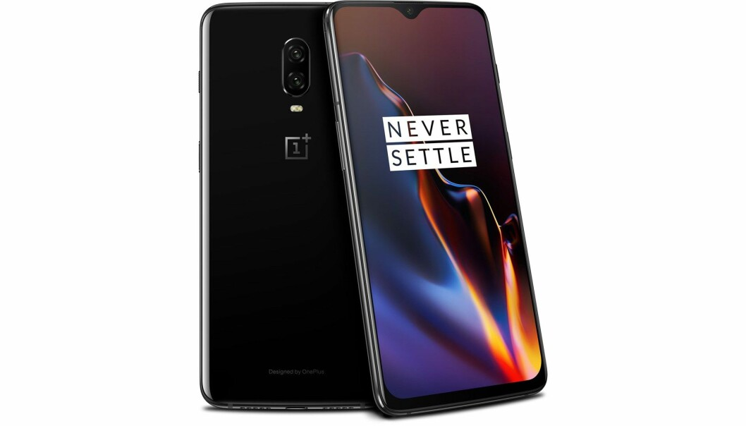 <strong>ONEPLUS 6T:</strong> OnePlus 6T lanseres 6. november. Foto: OnePlus