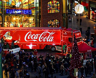 Coca-Cola lanserer julebrus