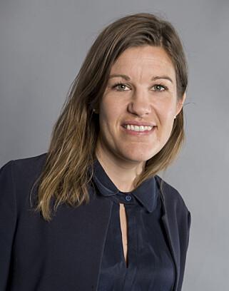 FØLGER NØYE: Presseansvarlig Marthe Skaar i Oljefondet sier fondet er tydelige på sine krav om avskoging. Foto: Oljefondet