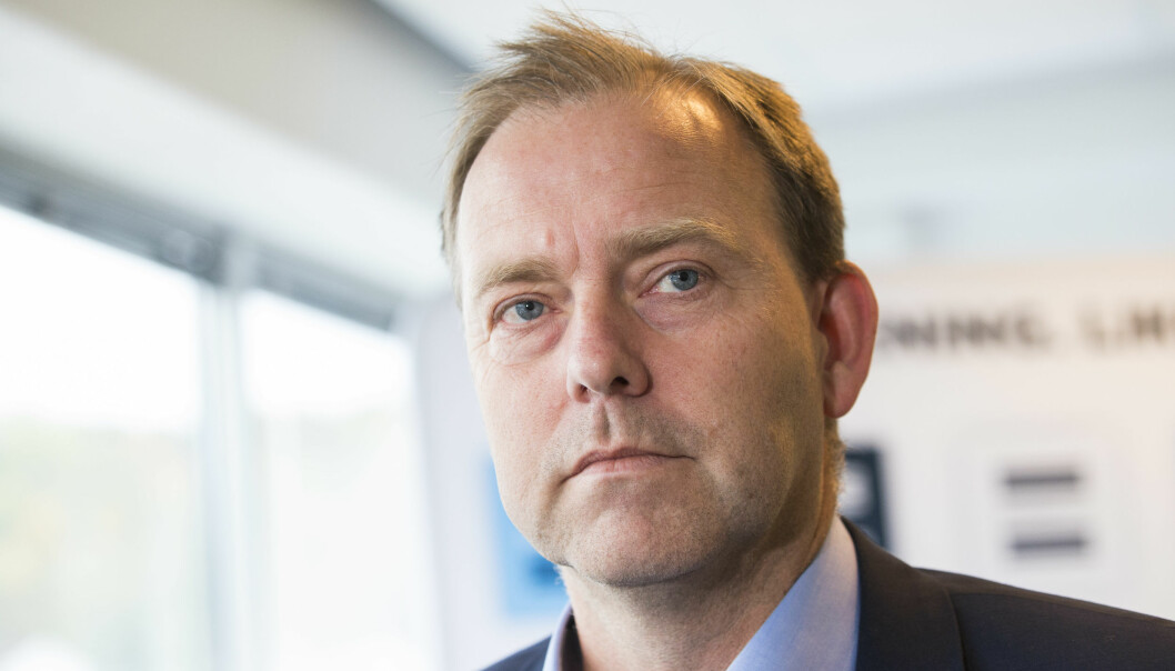 <strong>SENDER INGEN:</strong> Daglig leder Anders Solheim i Antidoping Norge vil ikke sende norske dopingkontrollører til Tokyo-OL om ikke det skjer store endringer. Foto: Håkon Mosvold Larsen / NTB scanpix