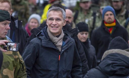 image: Jens Stoltenberg svarer på kritikken mot NATO-øvelsen