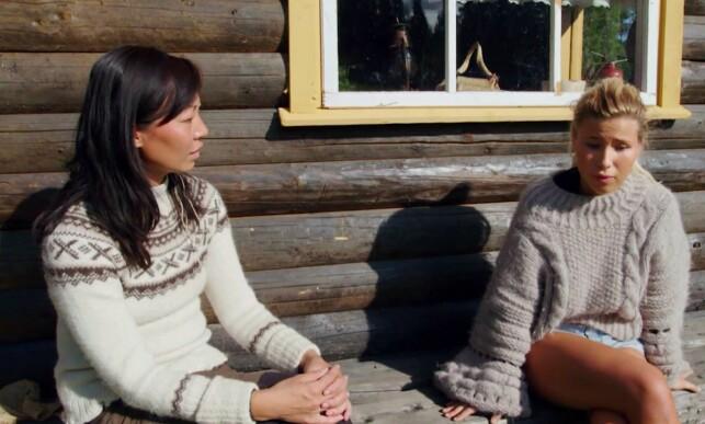 SNAKKET UT: Irene Halle og Andrea Badendyck fikk snakket ut om konfliktene dem i mellom. Foto: TV 2