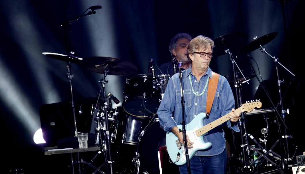 ENORM SUKSESS: Eric Clapton regnes som en av de mest innflytelsesrike gitaristene gjennom tidene. Foto: NTB scanpix