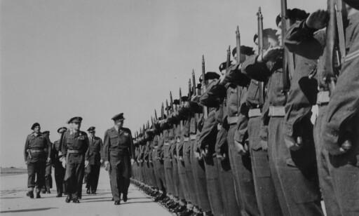 USAs PRESIDENT: Som sjef for Nato besøkte Dwight D. Eisenhower Tysklandsbrigaden 21. mai 1951. Han uttalte at det var moralen, ikke kampkraften hos de norske styrkene han skulle inspisere.