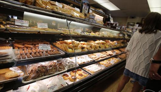 <strong>DANSKE BAKERIER:</strong> Det kryr av bakere i Solvang, og danske wienerbrød er selvsagt en av spesialitetene. Foto: Tormod Brenna