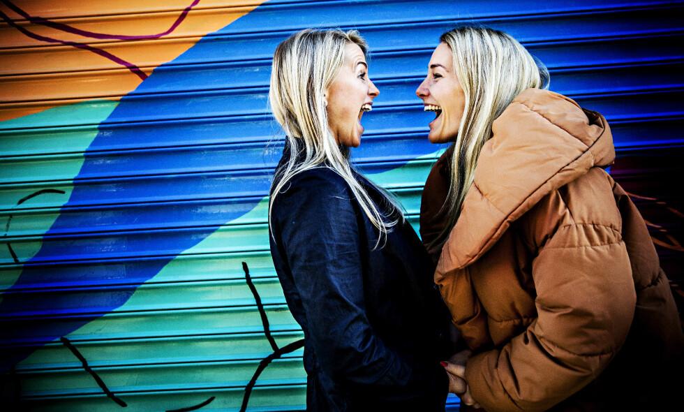 KJÆRESTER: Tonje Frøystad Garvik (29) og Lene Sleperud (29) har vært sammen i halvannet år. Denne høsten er begge å se i «Farmen», der de har fått særlig oppmerksomhet for å holde forholdet skjult. Foto: Nina Hansen / Dagbladet