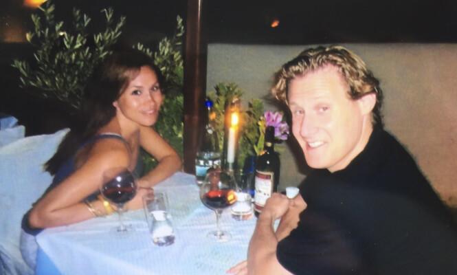 VAR FORELSKET: Eksparet var sammen i hele seks år før de bestemte seg for å gifte seg i 2010. Foto: Splash News/ NTB scanpix