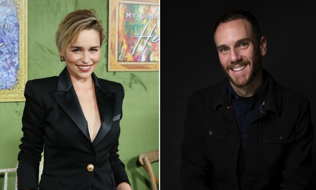 NYTT PAR? Mye tyder på at Emilia Clarke og Charlie McDowell har begynt å date. Foto: NTB Scanpix