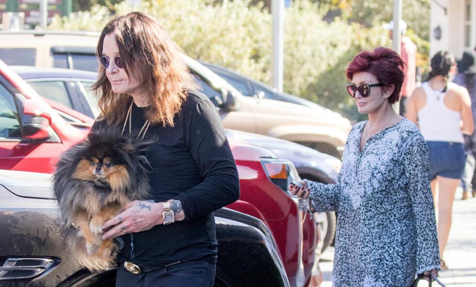 SOVEPILLER: I et nytt intervju avslører Sharon Osbourne at hun dopet ned ektemannen Ozzy Osbourne for at han skulle innrømme den mye omtalte utroskapen. Foto: NTB Scanpix