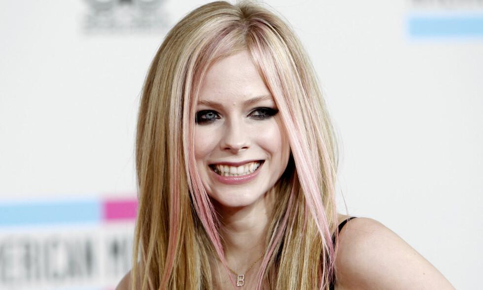 VAR PÅ TOPPEN: Popstjerna Avril Lavigne har vært i rampelyset siden starten av 2000-tallet. Siden har hun opplevd både opp- og nedturer. Foto: NTB scanpix