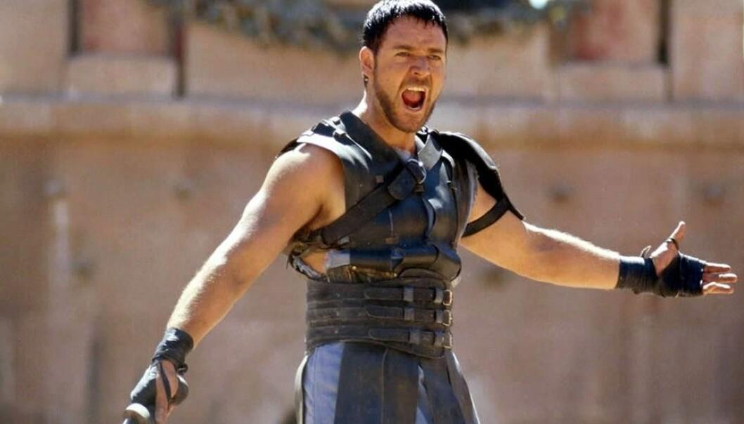 SUKSESS: Russell Crowe som gladiatoren Maximus ble populær blant både kritikerne og kinopublikummet i 2000. Nå kommer en oppfølger til filmen. Foto: Universal