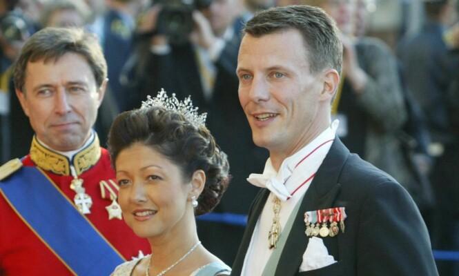 SKILTE LAG: Eventyrromansen mellom Alexandra og Joachim tok brått slutt i 2005. Foto: NTB Scanpix