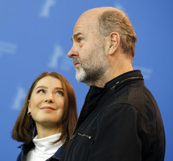 SKUESPILLER OG REGISSØR: Andrea Berntzen og Erik Poppe. Foto: Scanpix
