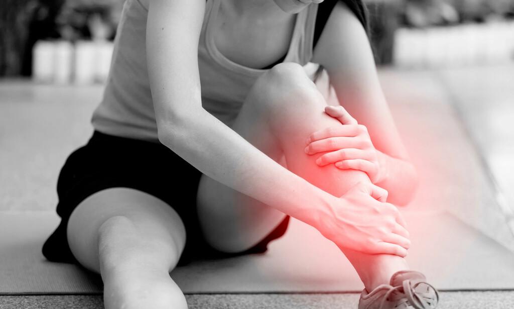 BEINHINNEBETENNELSE: Ikke uvanlig plage blant løpere. Foto: NTB Scanpix/Shutterstock