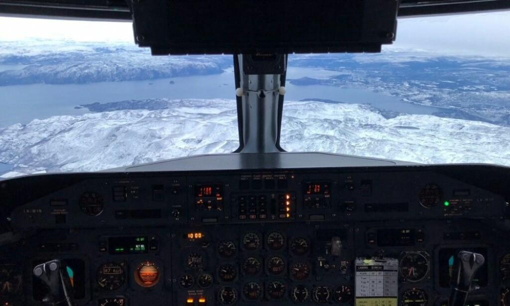 JAMMING: Piloter advares mot at GPS-signalet kan forsvinne i luftrommet fra Kirkenes til Lyngen i Troms. Foto: Privat