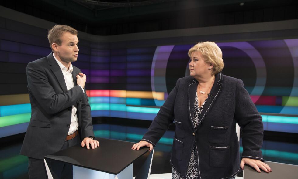 ÅPNER FOR ABORTENDRINGER: Kjell Ingolf Ropstad, som skal lede KrFs forhandlinger med regjeringspartiene håper å få Erna Solberg med på endringer i abortloven. Foto: Terje Pedersen / NTB scanpix