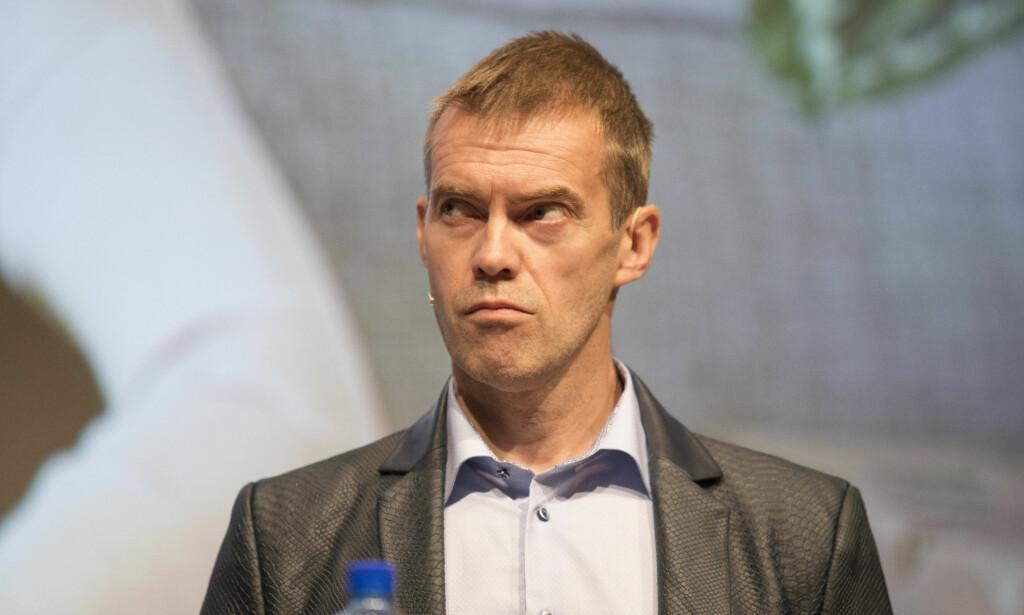 FORSKER: Forskningssjef Erling Røed Larsen i Eiendomsverdi skal lede det nye senteret. Foto: Torstein Bøe / NTB scanpix