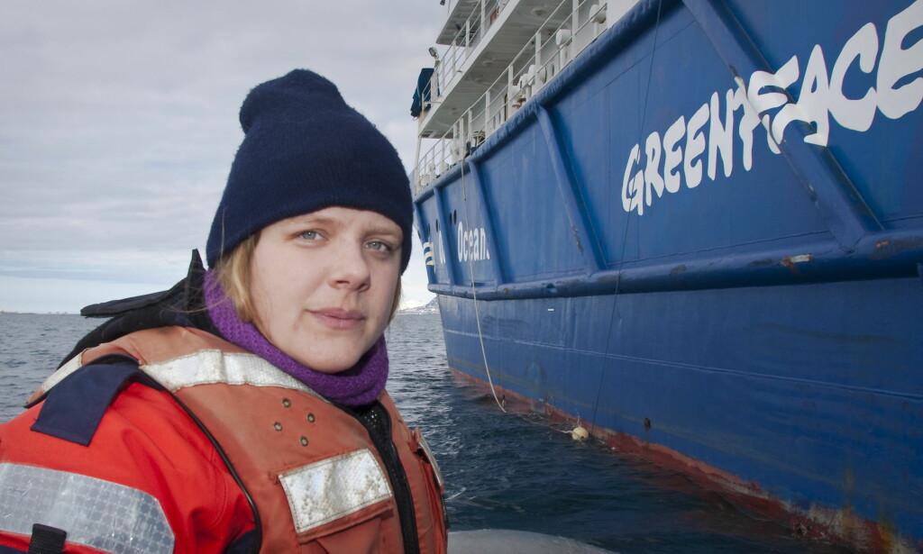 RASER: - Dette var en historisk mulighet til å skape det største vernede området på jorda, sier Frida Bengtsson i Greenpeace. Foto: Jan Morten Bjørnbakk / NTB scanpix