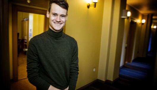<strong>STATSRÅDEMNE?:</strong> Stortingsrepresentant Tore Storehaug (KrF) fra Sogn og Fjordane kan være en mulig utviklingsminister, men kan være litt for ung og uerfaren. Foto: Nina Hansen.